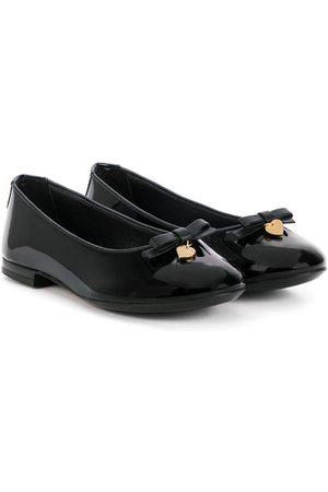Dolce & Gabbana Menina Sabrinas - Patent ballerinas