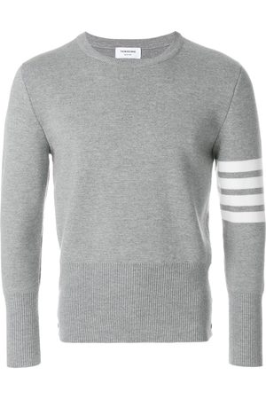 Thom Browne Homem Camisolas - 4-Bar Milano Stitch Pullover