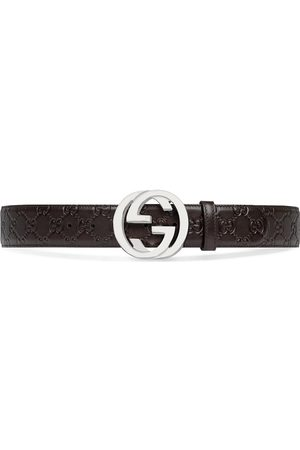 Gucci GG Supreme buckle belt