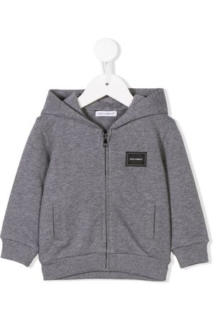 Dolce & Gabbana Bebé Camisolas com capuz - Zip-front hoodie