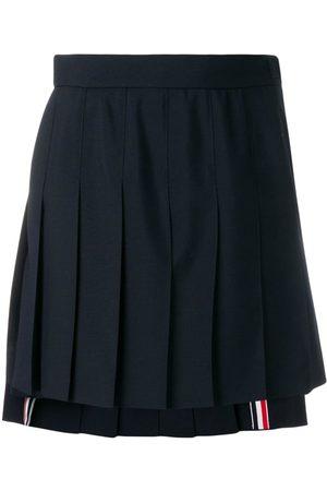 Thom Browne School Uniform Pleated Miniskirt