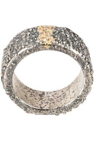 TOBIAS WISTISEN Small gold line ring