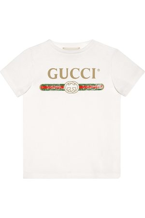Gucci Children's cotton T-shirt with Gucci logo