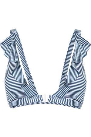 Duskii Spritz ruffled bikini top