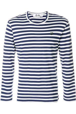 Comme des Garçons Homem T-shirts & Manga Curta - Striped T-shirt