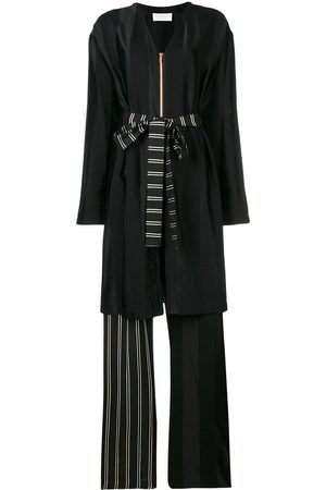 ESTEBAN CORTAZAR Robe-like long playsuit