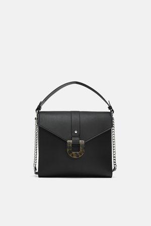 Zara SHOULDER BAG COM PORMENOR DE CAREY