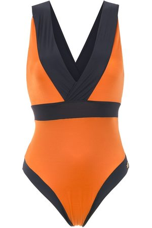 Brigitte Panelled swimsuit