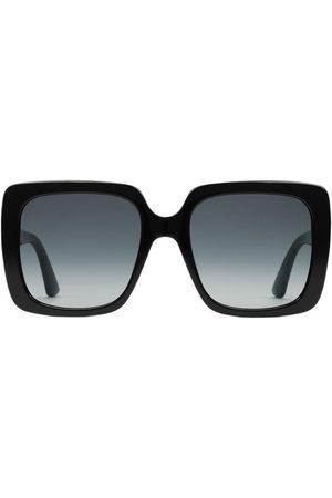 cc2ae09a7b3b5 Gucci Senhora Óculos de Sol - Rectangular-frame acetate sunglasses