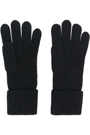 N.PEAL Senhora Luvas - Cashmere ribbed gloves
