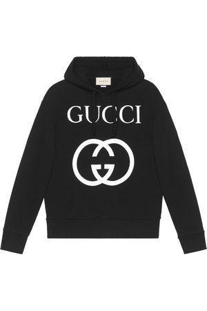 Gucci Homem Camisolas com capuz - Hooded sweatshirt with Interlocking G