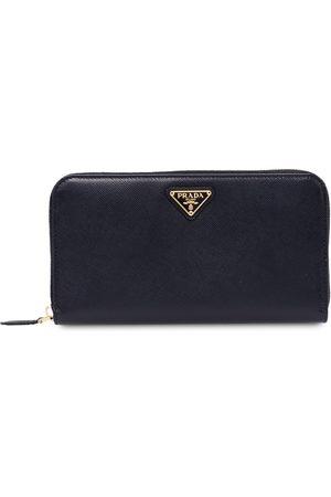 Prada Large zip around wallet