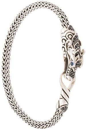 John Hardy Senhora Pulseiras - Naga Station sapphire and spinel bracelet