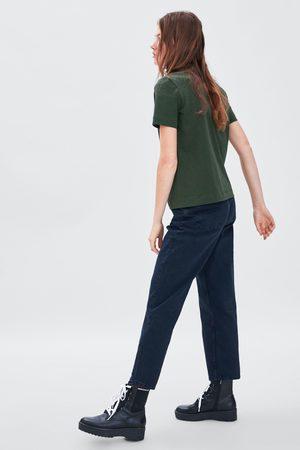 Zara T-SHIRT COMBINADA
