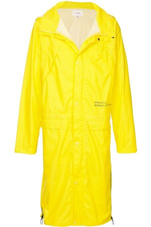 Makavelic Mot long raincoat