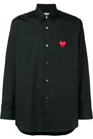 Comme des Garçons Homem Formal - Classic heart patch shirt