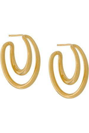 CHARLOTTE CHESNAIS Initial hoop earrings
