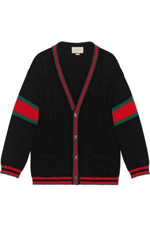 Gucci Homem Camisolas - Oversize cable knit cardigan