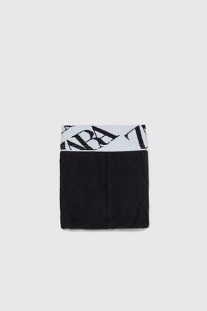 Zara SLIP COM CINTURA COM TEXTO