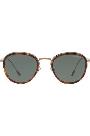 Armani Homem Óculos de Sol - Round frame sunglasses