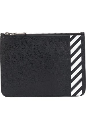 OFF-WHITE Diagonal stripe purse