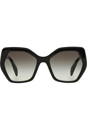 Prada Oversized tinted sunglasses