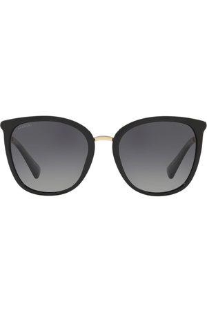 Bvlgari Oversized square frame sunglasses