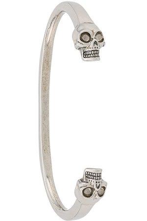 Alexander McQueen Skulls cuff