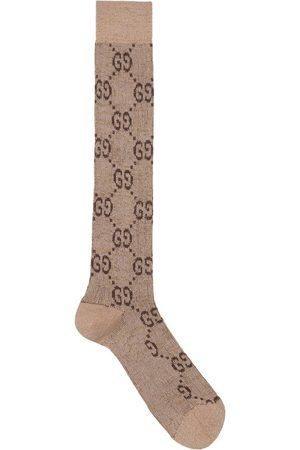 Gucci Lurex interlocking G socks