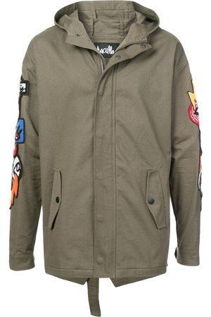 HACULLA Homem Casacos - Hacmania patch hooded coat