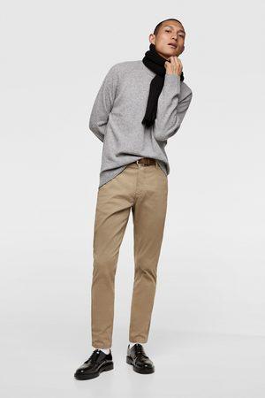 Zara Calças chino cinto
