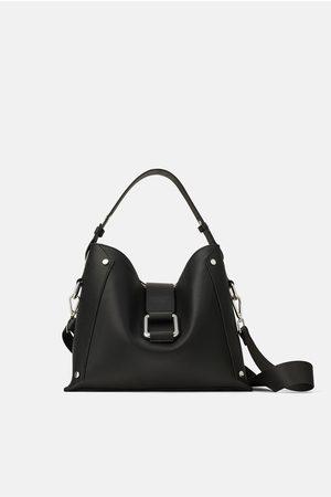 Zara TOTE BAG COM MAXI FIVELA