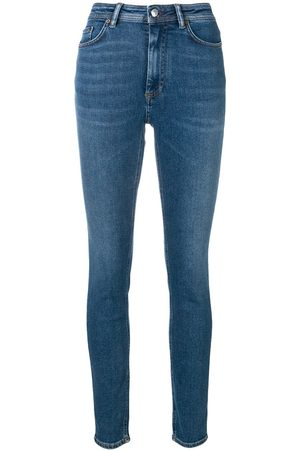 Acne Peg high waist jeans