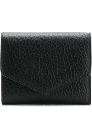Maison Margiela Textured leather wallet