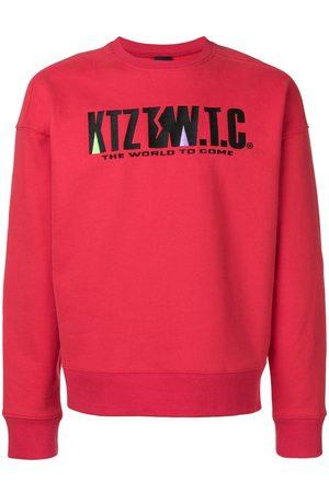 KTZ Senhora Camisolas sem capuz - Mountain letter embroidered sweatshirt