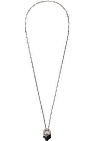Alexander McQueen Homem Colares - Divided skull pendant necklace