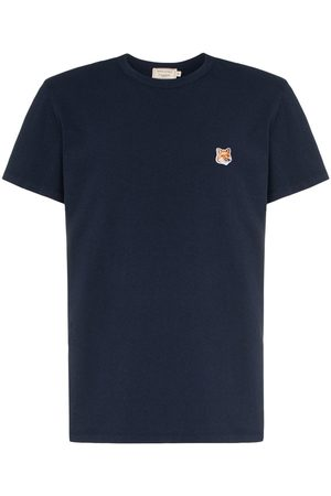 Maison Kitsuné Fox patch cotton T-shirt