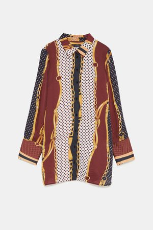 Zara Formal - CHAIN PRINT SHIRT