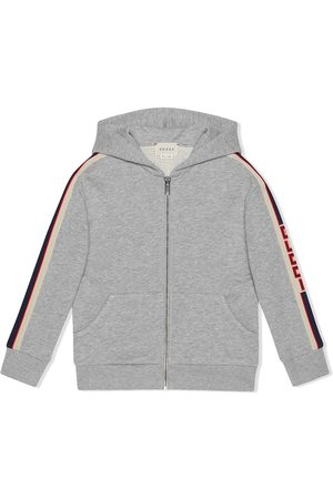 Gucci Children's sweatshirt with Gucci stripe