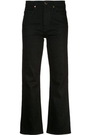 Khaite Senhora Bootcut & Boca-de-sino - Flared jeans