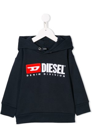 Diesel Menino Camisolas com capuz - Embroidered logo hoodie