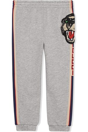 Gucci Children's jogging pant with Gucci stripe