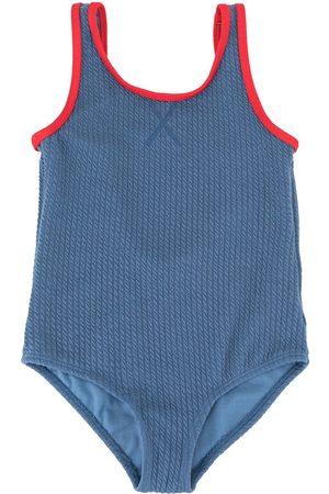 Duskii Menina Fatos-de-banho - Zoe textured swimsuit
