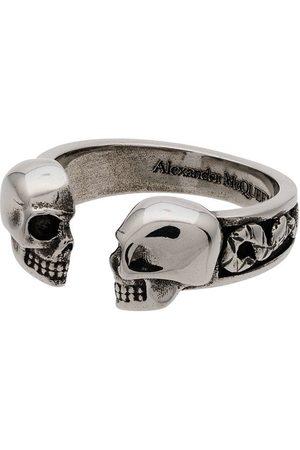 Alexander McQueen Homem Anéis - Skull Head Ring