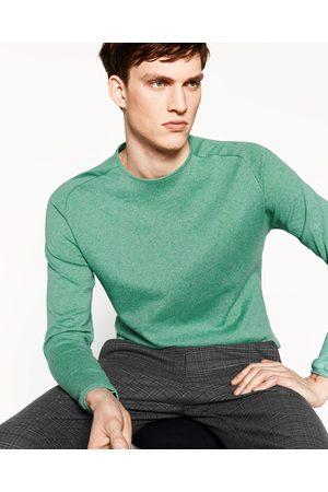 Homem Camisolas - Zara CAMISOLA DE MALHA FINA - Disponível em mais cores