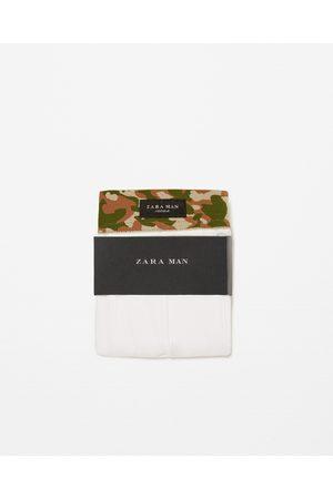 Homem Boxers - Zara BOXERS CINTURA CAMUFLAGEM - Disponível em mais cores