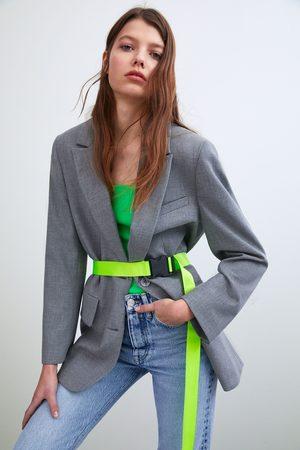Zara Blazer oversize com cinto
