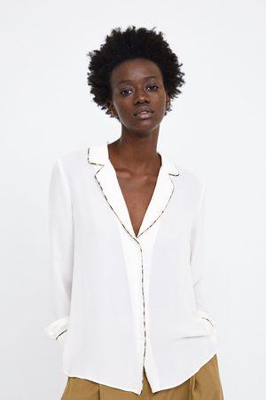 Zara Blusa debruns a contrastar