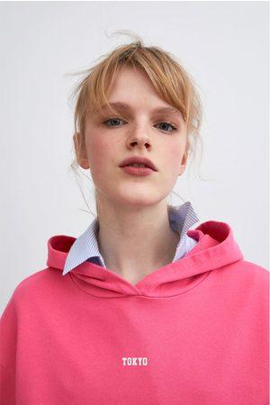 Zara Sweatshirt com texto