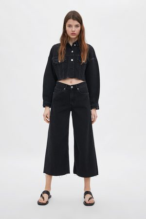 Zara Jeans culottes mid-rise